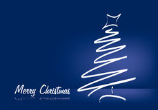 Merry Christmas. Christmas background vector illustration red Stock Photo