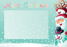 Merry Christmas Background With Place For Your Text Stock Photos