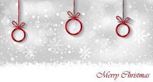 Merry Christmas background. Stock Images