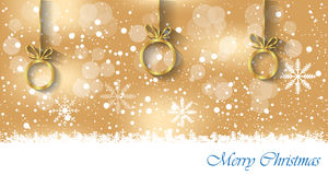 Merry Christmas background. Royalty Free Stock Images