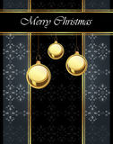 2017 Merry Christmas background. Merry Christmas background for your invitations, festive posters, greetings cards stock illustration
