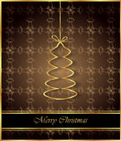 2017 Merry Christmas background. Merry Christmas background for your invitations, festive posters, greetings cards Royalty Free Stock Photography