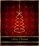 2017 Merry Christmas background. Merry Christmas background for your invitations, festive posters, greetings cards Stock Images