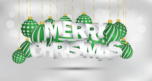 Merry Christmas background. Merry Christmas background for your invitations, festive posters, greetings cards vector illustration