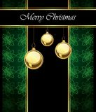 2018 Merry Christmas background. 2018 Merry Christmas background for your invitations, festive posters, greetings cards Royalty Free Stock Photos