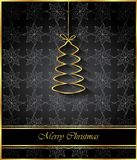 2018 Merry Christmas background. 2018 Merry Christmas background for your invitations, festive posters, greetings cards Royalty Free Stock Image