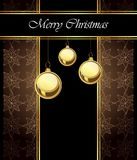 2018 Merry Christmas background. 2018 Merry Christmas background for your invitations, festive posters, greetings cards Royalty Free Stock Photography