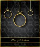 2019 Merry Christmas background. Royalty Free Stock Photography
