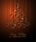 Merry Christmas Background for your seasonal invitations Stock Photos