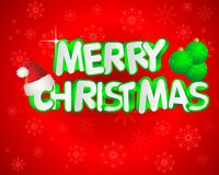 Merry christmas backround Royalty Free Stock Photos
