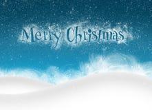 Merry Christmas bankground stock illustration