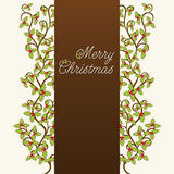 Merry Christmas banner design Royalty Free Stock Photos