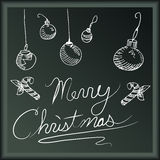 Merry Christmas Banner Stock Photography