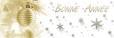 Merry christmas banner Royalty Free Stock Photography
