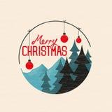Merry Christmas Bauble Stock Photos