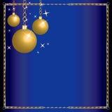 Merry Christmas Blue Wisemen stock illustration