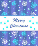 Merry christmas cad Royalty Free Stock Photo