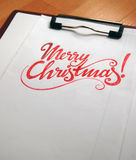 Merry Christmas calligraphic background. For your design stock images
