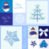 Merry Christmas card royalty free illustration