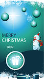 Merry christmas card. Christmas greeting card for your businesss Stock Photo