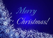 Merry Christmas. Card Stock Images