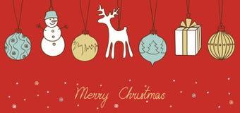 Merry Christmas card Stock Photo