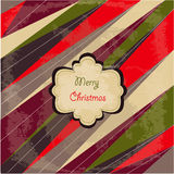 Merry Christmas card Royalty Free Stock Photo