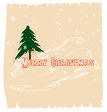 Merry christmas card  24 Royalty Free Stock Images