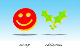 Merry Christmas Card Stock Images
