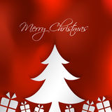 Merry Christmas card background Stock Images