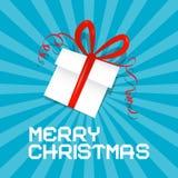 Merry Christmas Card Stock Image