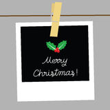 Merry Christmas card1 Stock Images