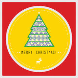 Merry Christmas card6 Royalty Free Stock Image