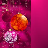 Merry christmas card. EPS 8 Royalty Free Stock Photo