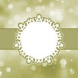 Merry Christmas Card. EPS 8 Stock Image