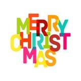 Merry Christmas Card - EPS10 Stock Photography