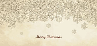Merry Christmas Card. Christmas Greeting Card. Merry Christmas lettering, vector illustration Stock Photo