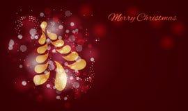 Merry christmas card. Holiday theme illustration royalty free illustration
