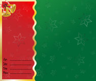 Merry christmas card lettering  Royalty Free Stock Photo