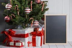 Merry christmas card Stock Photography