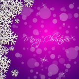 Merry christmas card sample Royalty Free Stock Photos
