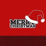 Merry Christmas card royalty free stock photos