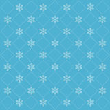Merry christmas card with snowflakes. Illustration Stock Photos