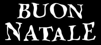 Buon natale. Royalty Free Stock Image