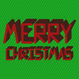 Merry Christmas Card. Royalty Free Stock Image