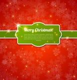 Merry Christmas Card. Stock Photos