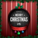 Merry christmas card-01 Stock Photo