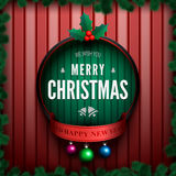 Merry christmas card2-01 Royalty Free Stock Photography