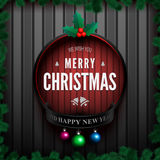 Merry christmas card3-01 Royalty Free Stock Photos