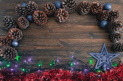 Merry christmas card. Winter holidays. Xmas theme. Merry christmas card, Winter holidays  Xmas theme. Happy New Year Royalty Free Stock Photography